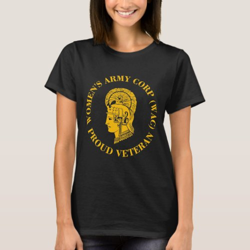 WAC Veteran _ Womens Army Corp T_Shirt