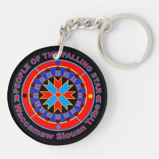 Waccamaw Siouan Key Chain (2 sided)