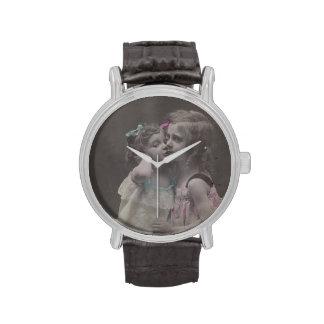 Wach antiguo FromMyDesk de la foto del vintage Relojes
