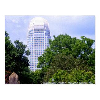 Wachovia Center, Winston-Salem NC Postcard