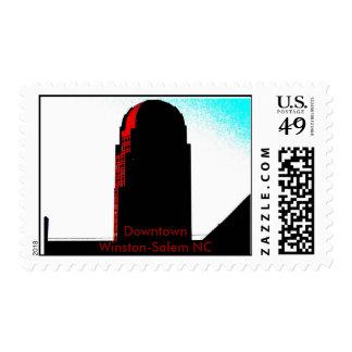 Wachovia from Liberty Street Stamp