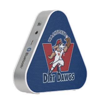 Wachusett Dirt Dawgs Collegiate Baseball Team Logo Bluetooth Speaker