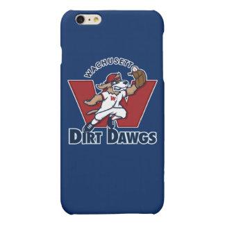 Wachusett Dirt Dawgs Collegiate Baseball Team Logo Matte iPhone 6 Plus Case