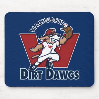 Wachusett Dirt Dawgs Collegiate Baseball Team Logo Mouse Pad