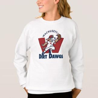 Wachusett Dirt Dawgs Collegiate Baseball Team Logo Sweatshirt