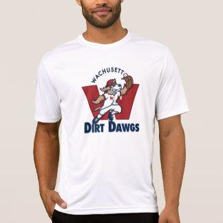 Wachusett Dirt Dawgs Collegiate Baseball Team Logo T-Shirt