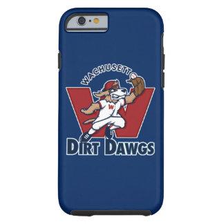 Wachusett Dirt Dawgs Collegiate Baseball Team Logo Tough iPhone 6 Case