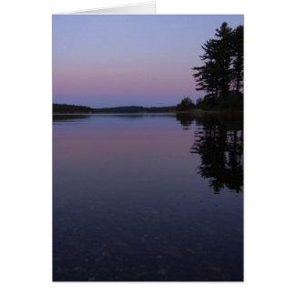 Wachusett Sunset Note Card