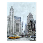 Wacker Dr. Chicago Postcard