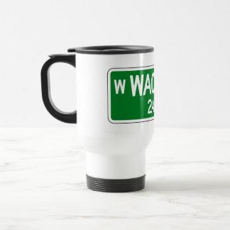 Wacker Drive, Chicago, IL Street Sign Travel Mug