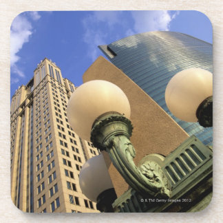 Wacker Drive , Skyscraper, Office Building, Beverage Coaster