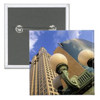 Wacker Drive , Skyscraper, Office Building, Button