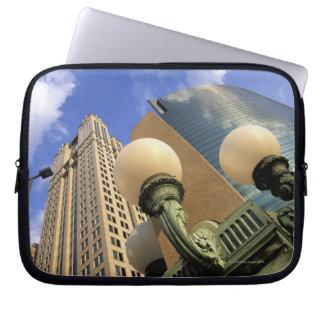 Wacker Drive , Skyscraper, Office Building, Laptop Sleeve