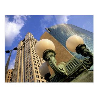 Wacker Drive , Skyscraper, Office Building, Postcard