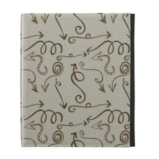 Wacky Arrows abstract iPad Cases