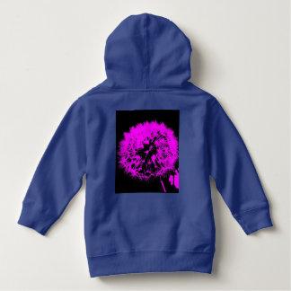 Wacky art -dandelion pink (C) Hoodie