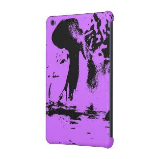 Wacky art - hippo (C) iPad Mini Covers