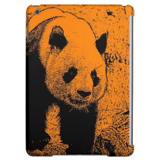 wacky art -panda orange (C) Case For iPad Air