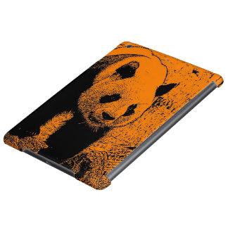 wacky art -panda orange (C) iPad Air Cases
