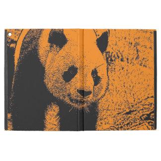 wacky art -panda orange (C) iPad Pro Case