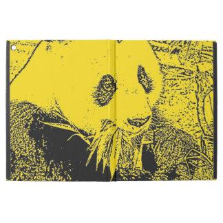 wacky art -panda yellow (C) iPad Pro Case