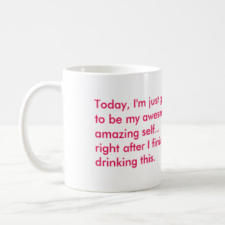Wacky Ballerina Custom Saying Mug