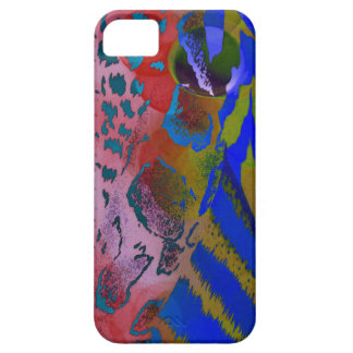 Wacky Colorful Animal Leopard Print iPhone 5 Cases