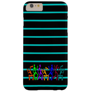 Wacky Dancers on Stripes Barely There iPhone 6 Plus Case