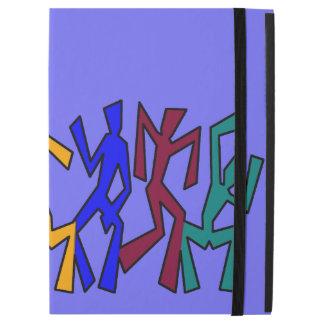 Wacky Dancers on Stripes iPad Pro Case