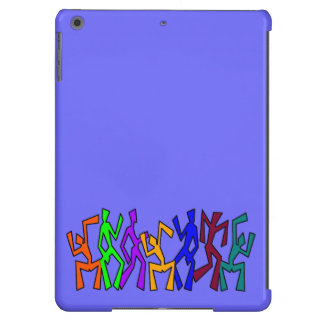 Wacky Dancers on Uni Color Case For iPad Air