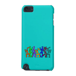 Wacky Dancers on Uni Color iPod Touch 5G Cover