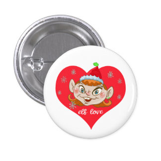 Wacky Elf Sassa Button
