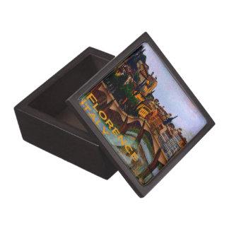 Wacky Florence Italy Premium Keepsake Box