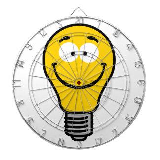 Wacky Lightbulb Dart Boards