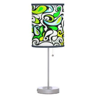Wacky Retro Swirl 3 Desk Lamp