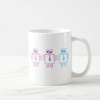 Wacky Robots Classic White Coffee Mug
