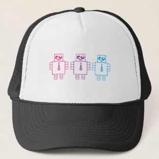 Wacky Robots Trucker Hat