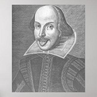 Wacky Shakespeare Print