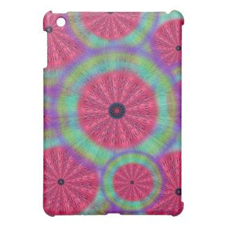 Wacky Sunshine Watermelon Mandala iPad Cover