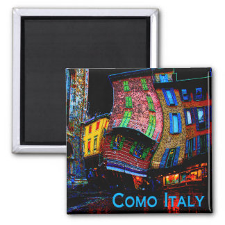 Wacky Travel Gifts - Como Italy Fridge Magnet