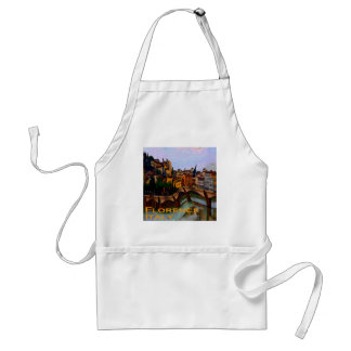 Wacky Travel Gifts - Florence Italy Adult Apron