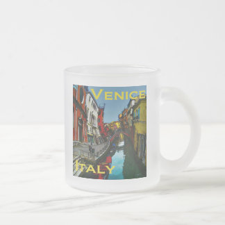Wacky Travel Gifts - Venice Frosted Glass Coffee Mug