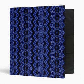 Wacky Waves Vinyl Binder