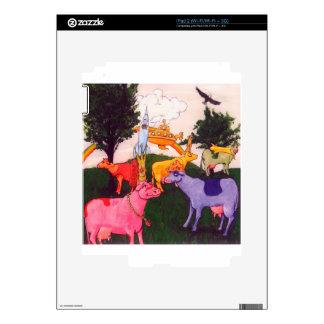 Wacky Wisconsin Cows iPad 2 Decals