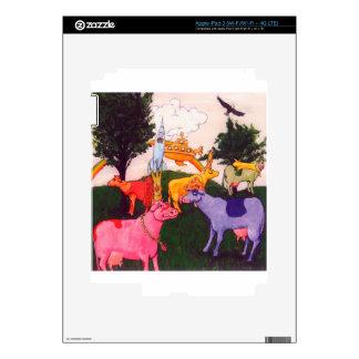 Wacky Wisconsin Cows iPad 3 Decals