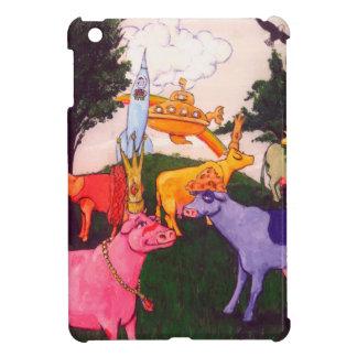 Wacky Wisconsin Cows iPad Mini Cases