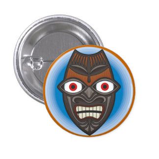 Wacky Witch Doctor Badge Button