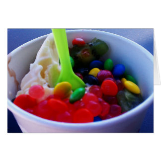 Wacky Yogurt Bright Card