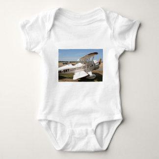 Waco biplane aircraft baby bodysuit