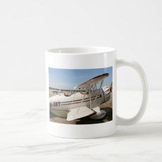 Waco biplane aircraft coffee mug